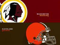 Washington Redskins vs Cleveland Browns