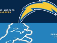 Los Angeles Chargers vs Detroit Lions