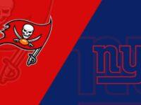New York Giants vs Tampa Bay Buccaneers