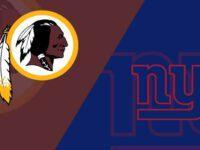 Washington Redskins vs New York Giants
