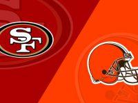Cleveland Browns vs San Francisco 49ers