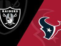 Oakland Raiders vs Houston Texans
