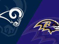 Baltimore Ravens vs Los Angeles Rams