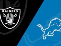 Detroit Lions vs Oakland Raiders
