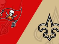 New Orleans Saints vs Tampa Bay Buccaneer