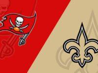 New Orleans Saints vs Tampa Bay Buccaneer