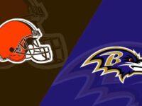 Baltimore Ravens vs Cleveland Browns