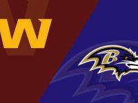 Baltimore Ravens vs Washington Football Team