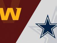 Dallas Cowboys vs Washington Football Team