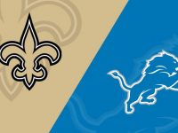 New Orleans Saints vs Detroit Lions
