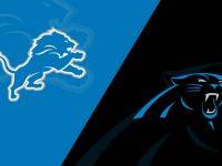 Detroit Lions vs Carolina Panthers