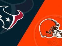 Houston Texans vs Cleveland Browns