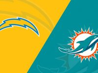 Los Angeles Chargers vs Miami Dolphins