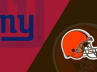 Cleveland Browns vs New York Giants