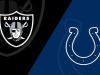 Indianapolis Colts vs Las Vegas Raiders