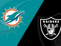 Miami Dolphins vs Las Vegas Raiders