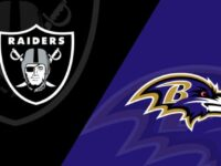 Baltimore Ravens vs Las Vegas Raiders