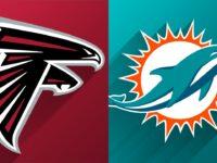 Atlanta Falcons vs Miami Dolphins