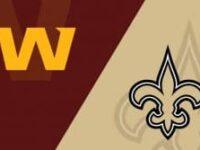 New Orleans Saints vs Washington